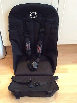 Bugaboo Cameleon 3 Dark Black Seat Fabric Unit With Straps Harness