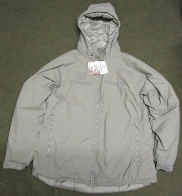 New Us Army Ads Tactical Primaloft Level 7 Ecwcs Parka. Acu Grey. Large-Regular.