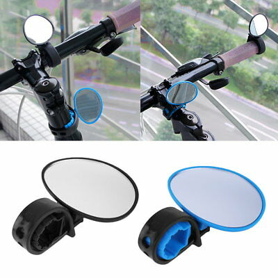 Bike Bicycle Cycling Rear View Mirror Handlebar Flexible Safety Rearview FG