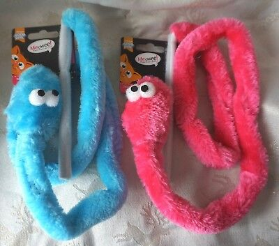 Cat Teaser Wand Toy Rattle And Battle Snake Wands