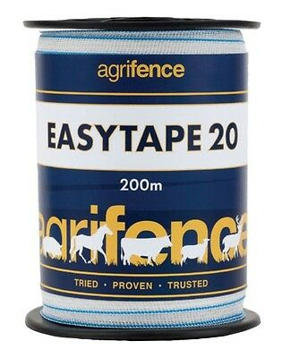 Electric Fence Tape, Easytape - White, Agrifence