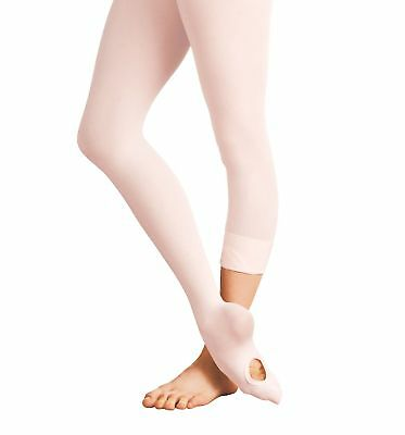 Adults Womens Ballet Tights Convertible Transition Dance Tights Soft Microfiber