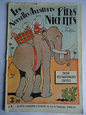 LES PIEDS NICKELES A.V.G n° 5 EXTRAORINAIRES EQUIPEES PAR FORTON REEDITION 1933