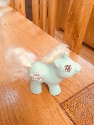 Vintage My Little Pony - Newborn baby - baby wiggles