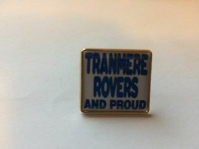 Tranmere Rovers And Proud badge
