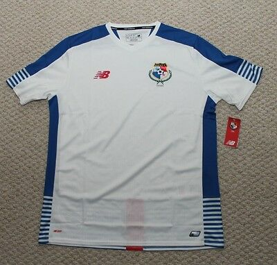 New Balance Panama National Team Soccer Jersey Away White - Mens XL NWT