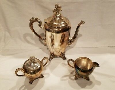 Silver Plated Tea Set
