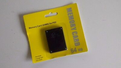 Memory Card PS2 64mb - brand new !!!!