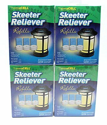 ThermaCell Skeeter Reliever SR-1 Refills 4PACK NEW