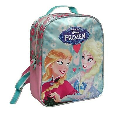 Disney FROZEN ZAINO Zainetto Backpack 25x30cm ELSA ANNA ORIGINALE NUOVO NEW