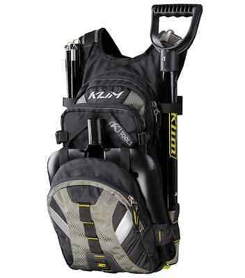HMK Black Matrix Shovel Klim Nac Pak Snowmobile Hydration Backpack Mountain Pack