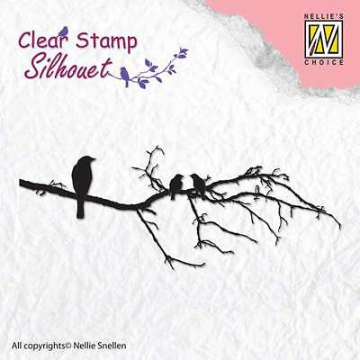 Nellie Snellen SILHOUET CLEAR Stamps HARE Right /& Left 25 x 30mm SIL030 2 Stamps