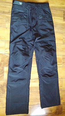 Ixon Motorcross Pants Black 31 x 43 Adjustable Waist W/Knee Pads