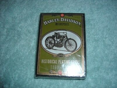 Harley Davidson Collectable Playing Cards