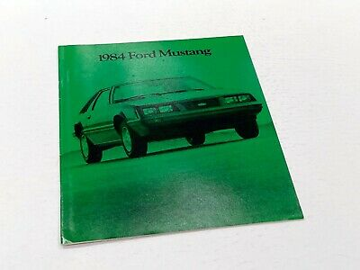 1984 Ford Mustang Brochure