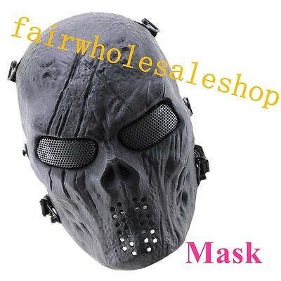 Protection Mask of Full Face-New Skull Skeleton Army Airsoft Tactical Paintball