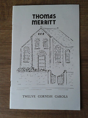 Thomas Merritt: Twelve Cornish Carols - Song Book