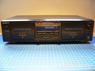 Sony TC-WE 475 tapedeck, kassettendeck, auto-reverse, fully working + 2x UCX-S