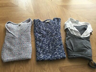Maternity winter jumpers Bundle Sizes 10 to 12
