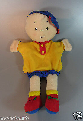 Vintage Puppet Doll Caillou, plush Cinar 2002 Soft fleece