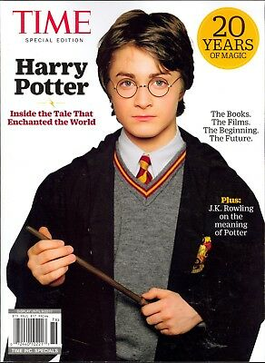 Time Inc. Specials HARRY POTTER 20 Years of Magic J.K. Rowling 2017
