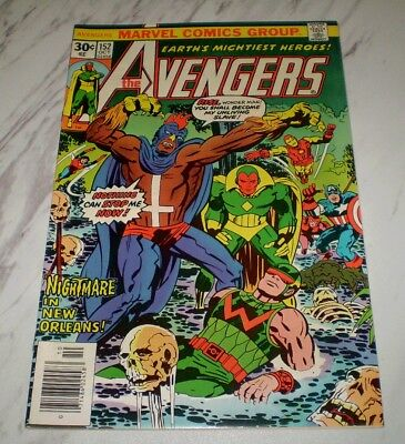 """Avengers #152 NM 9.4 OW/W pages Unrestored 1976 Marvel 1st """"New"""" Black Talon"""