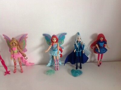 Winx Club Harming Action Figures
