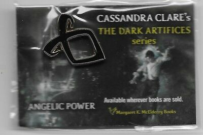 The Dark Artifices, Cassandra Clare (Shadowhunters), Angelic Power Lapel Pin