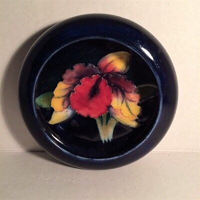 MOORCROFT Candy Dish - Orchid Pattern