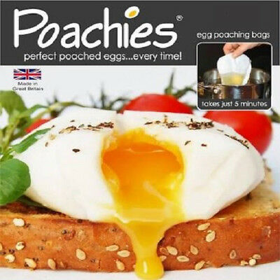 Poachies Egg Poaching Bags. Poached Poach Eggs - Pack of 60