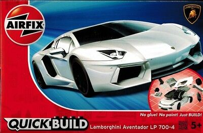 Airfix QuickBuild - Lamborghini Aventador LP 700-4 - Stecksystem - Just BUILD !!