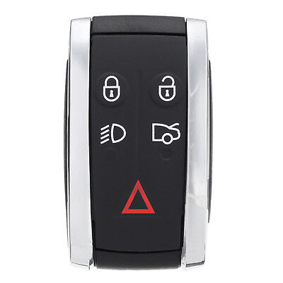 Jaguar fits XF XK XKR 5 Button Replacement Remote Smart Key Fob Case Shell