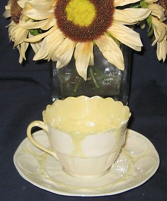 Belleek Shell Pattern - Fancy Teacup Set
