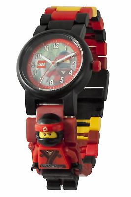 Lego The Ninjago Movie Kai Minifigure Link Childrens Wrist Watch