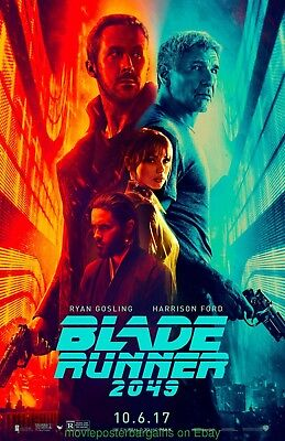 BLADE RUNNER 2049 MOVIE POSTER Advance Style DS 27x40 RYAN GOSLING HARRISON FORD