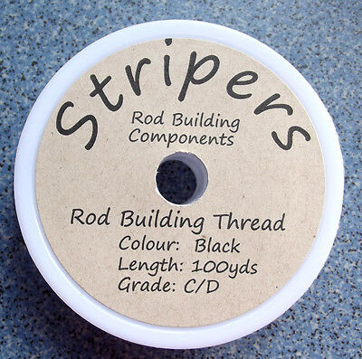Rod Building and Repair Thread. Grade  C/D-med/heavy. Available in 4 colours.