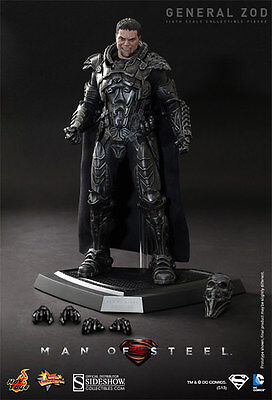 HOT TOYS DC SUPERMAN MAN OF STEEL GENERAL ZOD 1:6 FIGURE ~Sealed in Brown Box~