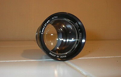 BELL & HOWELL projector lens 2 inch 51mm f1.2 (for the 1500 & 2500 Series)