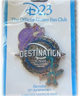 Disney D23 – Destination D 75 Years of Disney Animated Features - Hercules Pin