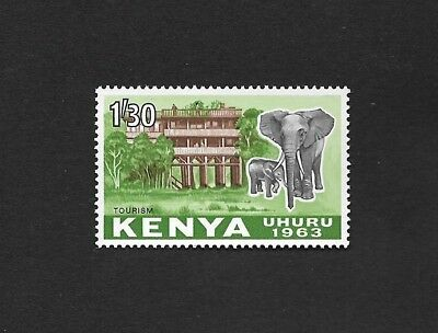 (111cents) Kenya 1963 Tourism MNH