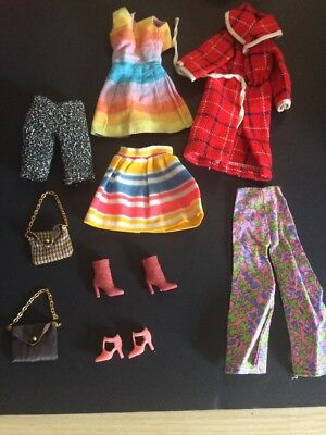 Vintage Hand Made Barbie Clothes