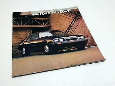 1986 Ford Mustang Brochure