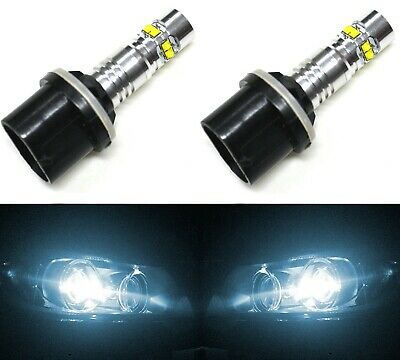 LED Kit N1 50W 9140 6000K White Two Bulbs Fog Light Replacement Upgrade Lamp OE