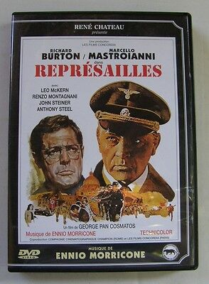 DVD REPRESAILLES - Richard BURTON / Marcello MASTROIANNI - VERSION RESTAUREE