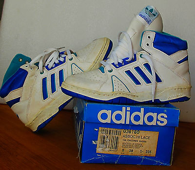 Chaussures vintage ADIDAS DAME asso H   années 80