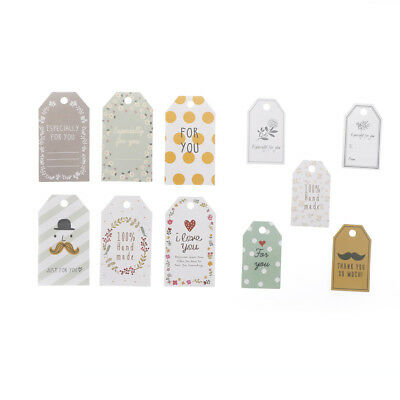 48pcs Kraft paper tags Paper tags Gift decoration Gift tags Merry Christmas^tags
