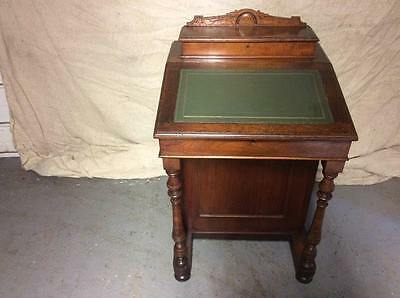 Edwardian Walnut Davenport Desk