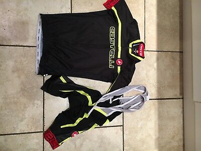 Castelli Cycling top and shorts