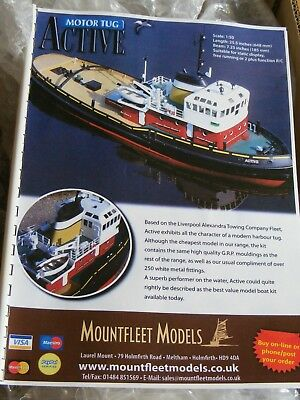 Brand new mountfleet models Active tug radio controld model boat
