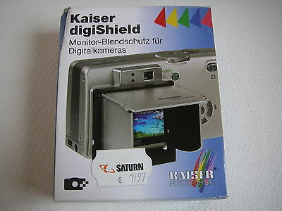 Kaiser digiShield Monitor-Blendschutz für Digitalkameras TOP